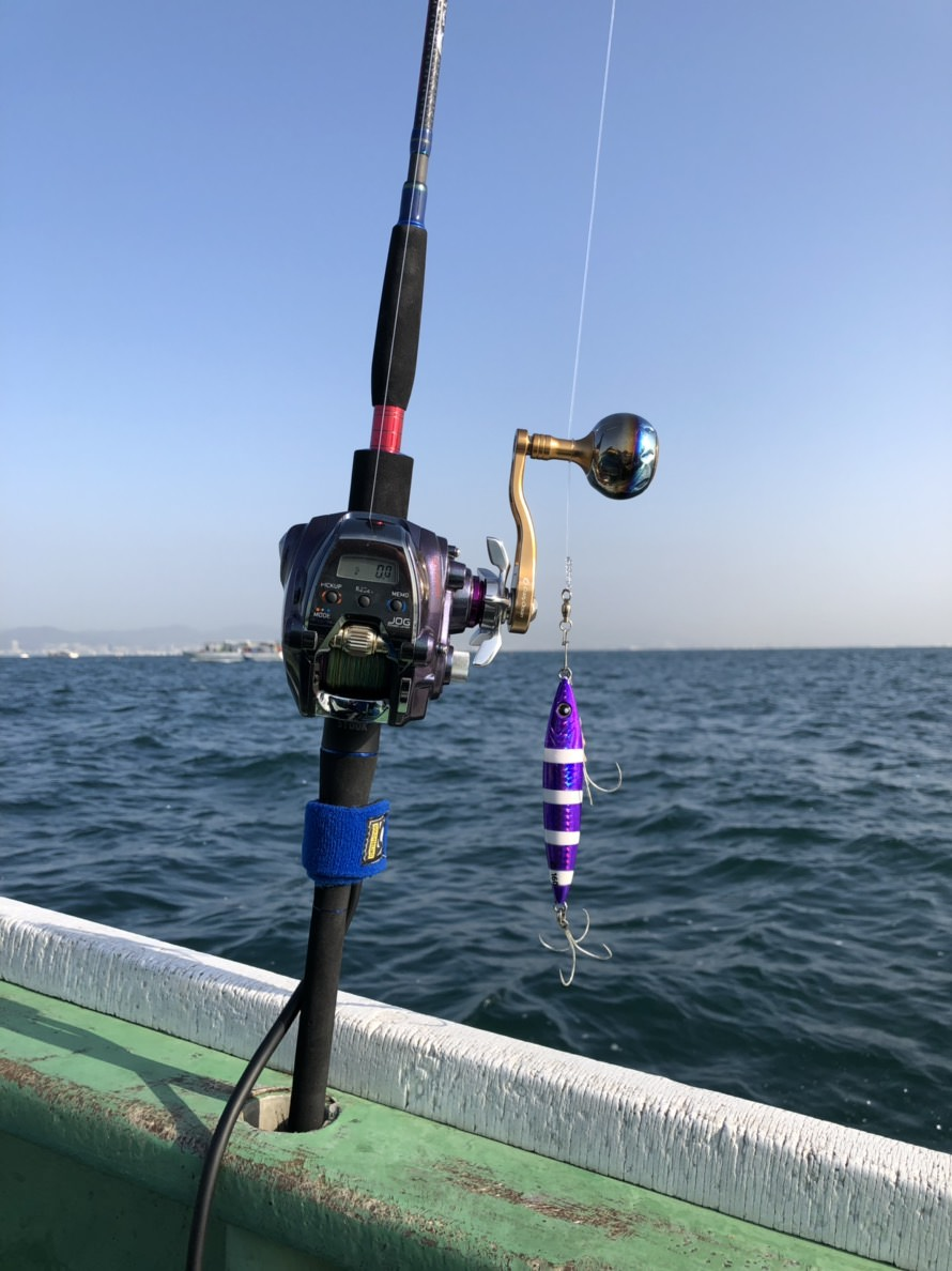 大阪湾の電動タチウオジギングは⁉