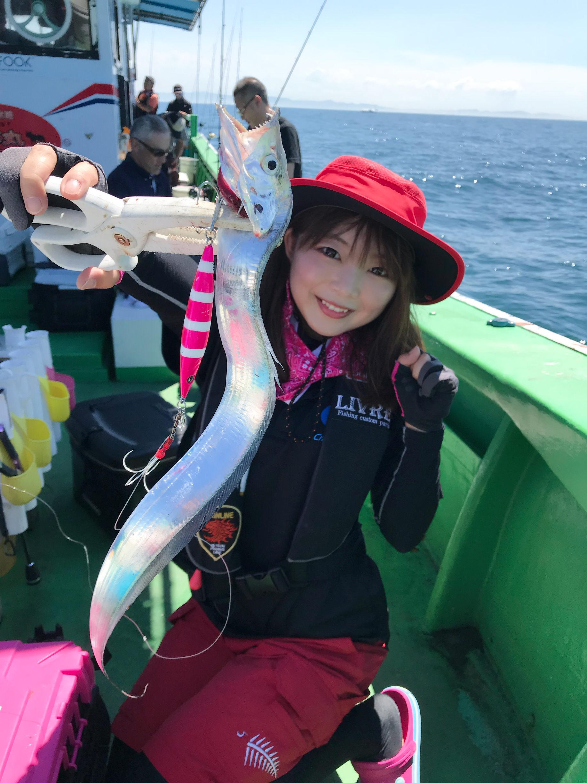 メタボスイマー太刀魚カラーで竿頭♪