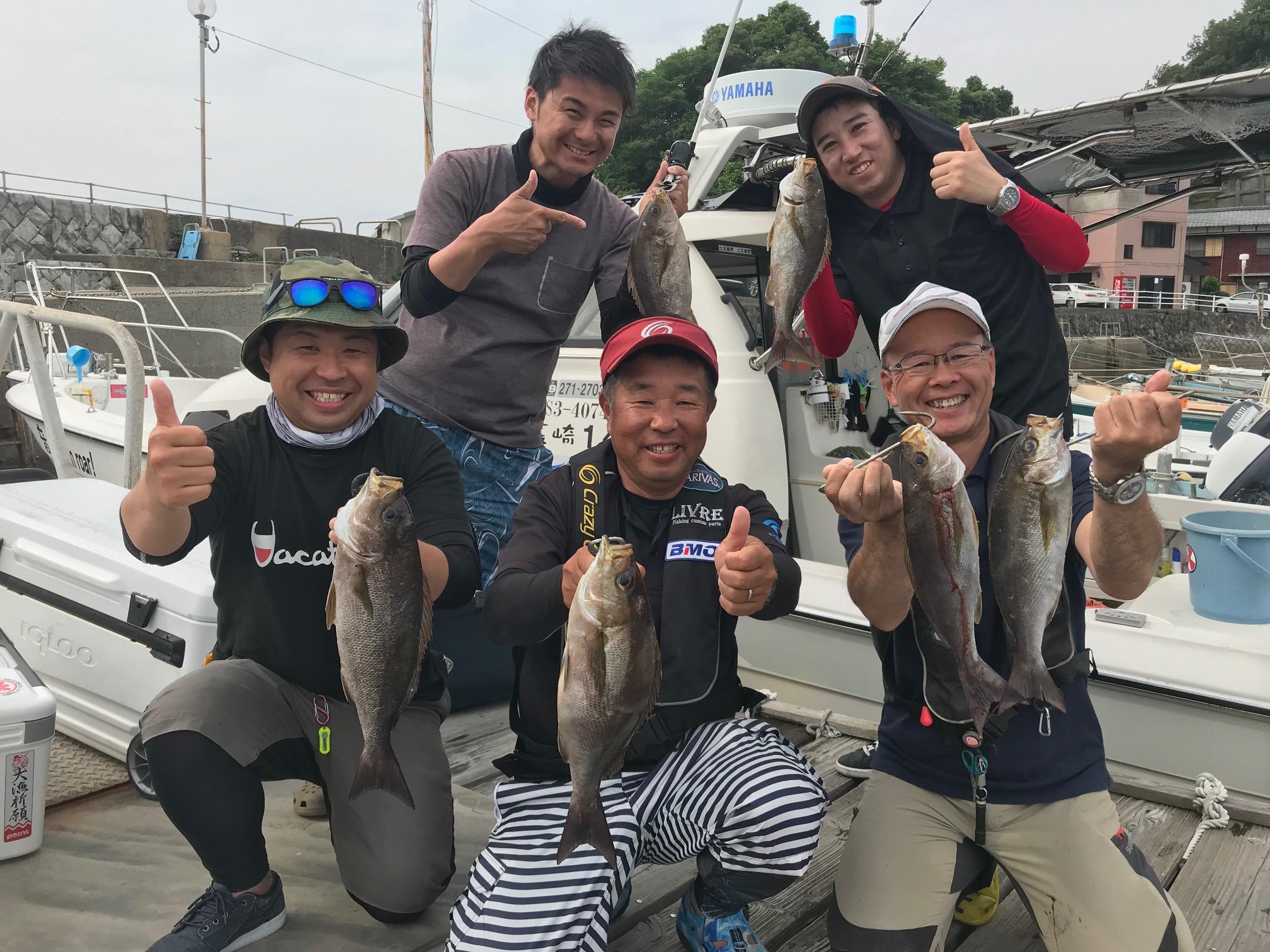 長崎県の海音さんでイサキ爆釣!!